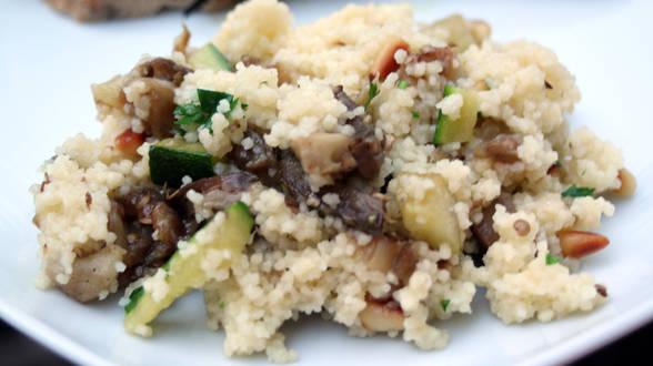 Grilled Vegetable Couscous Salad