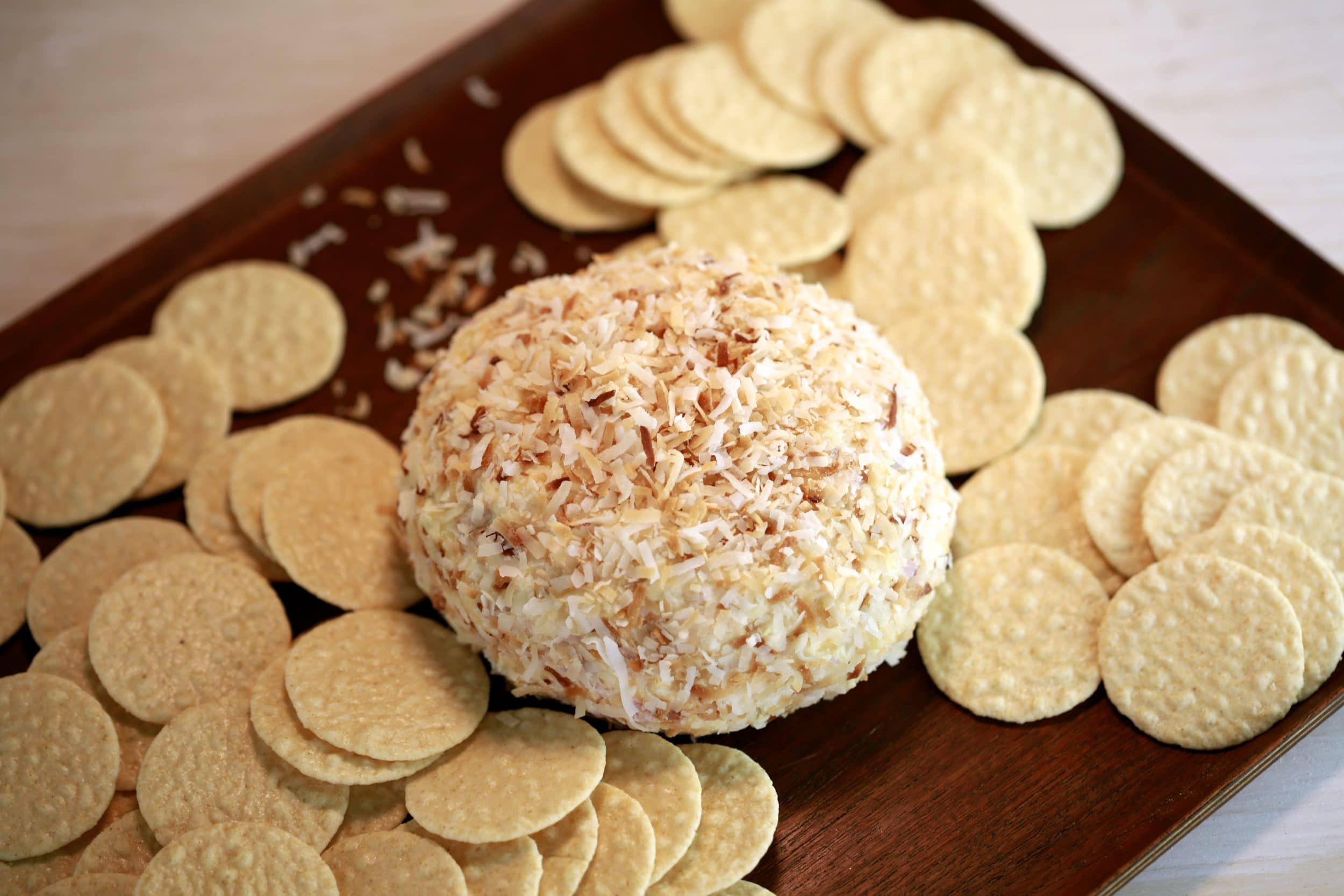 Hawaiian Cheeseball