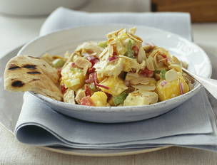 Hot and Cold Curry Chicken Salad