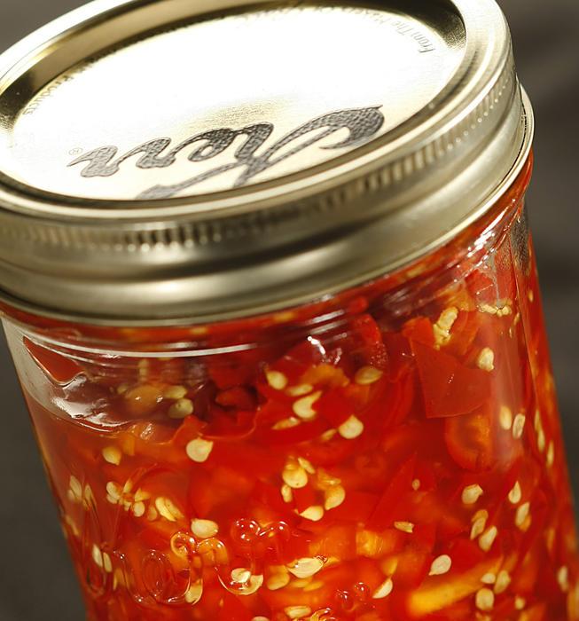 Hunanese chopped salted chiles