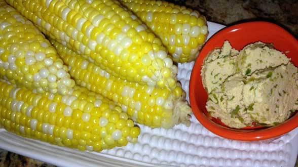 Jalapeño-Lime Corn on the Cob