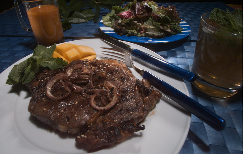 Kalbi Rib-Eye Steaks