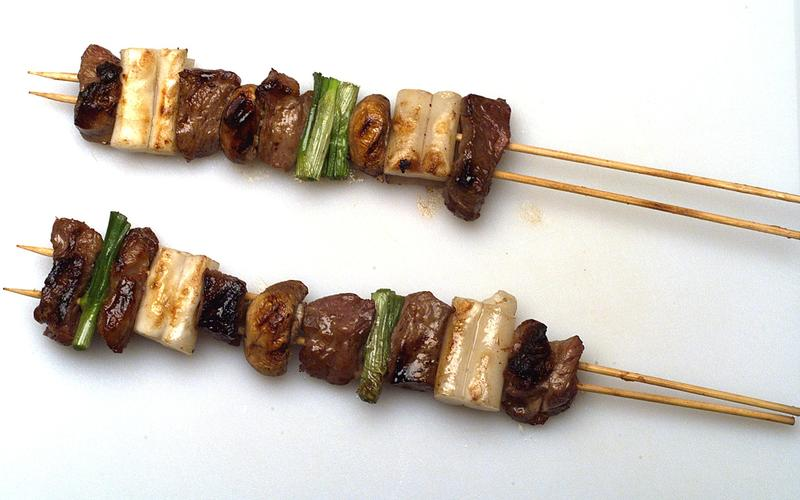 Korean Shish Kebab (Sanjok)