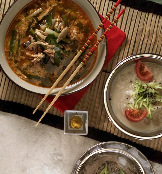 Korean Spicy Hot Chicken Soup (Dak Yukgaejang)