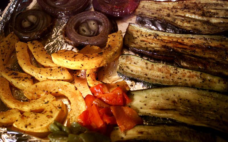 Lawrence Welk Resort's Grilled Vegetable Salad