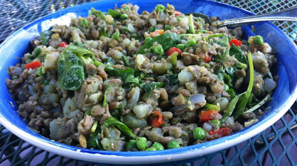 Lentil-Potato Salad