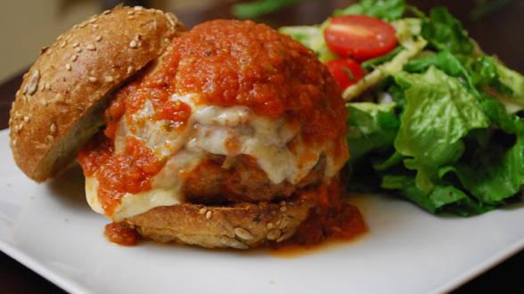 Meatball Hero Burgers