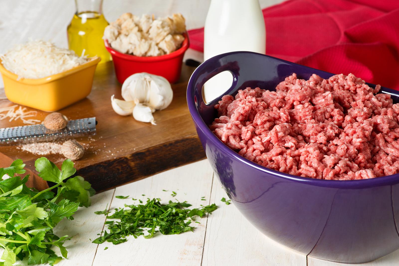 Meatballs Three Ways: Meatball Base