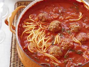 Mini Meatball and Broken Spaghetti