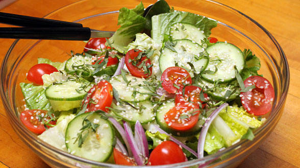 Mixed Salad with Tarragon