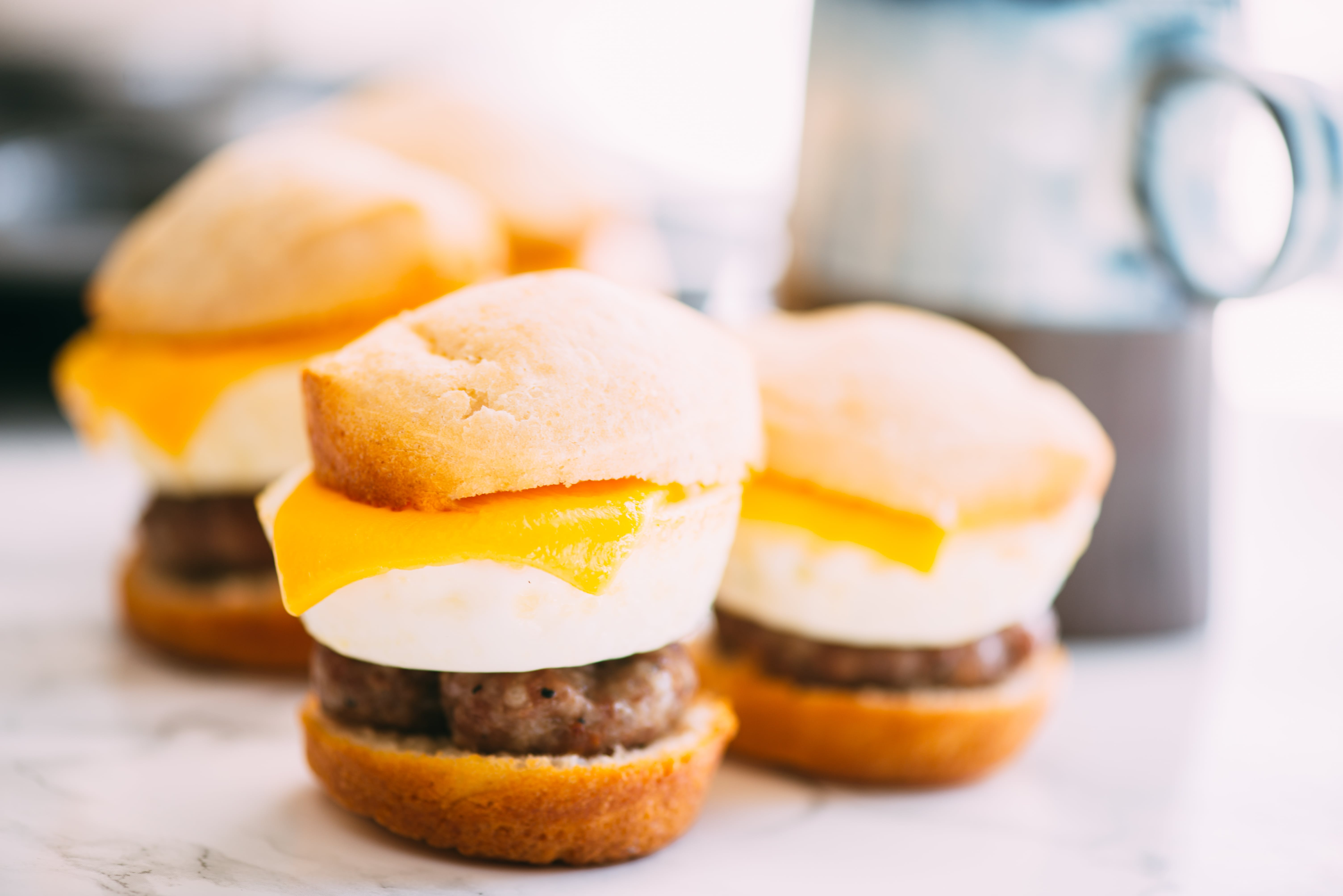 Muffin-Pan Breakfast Sliders