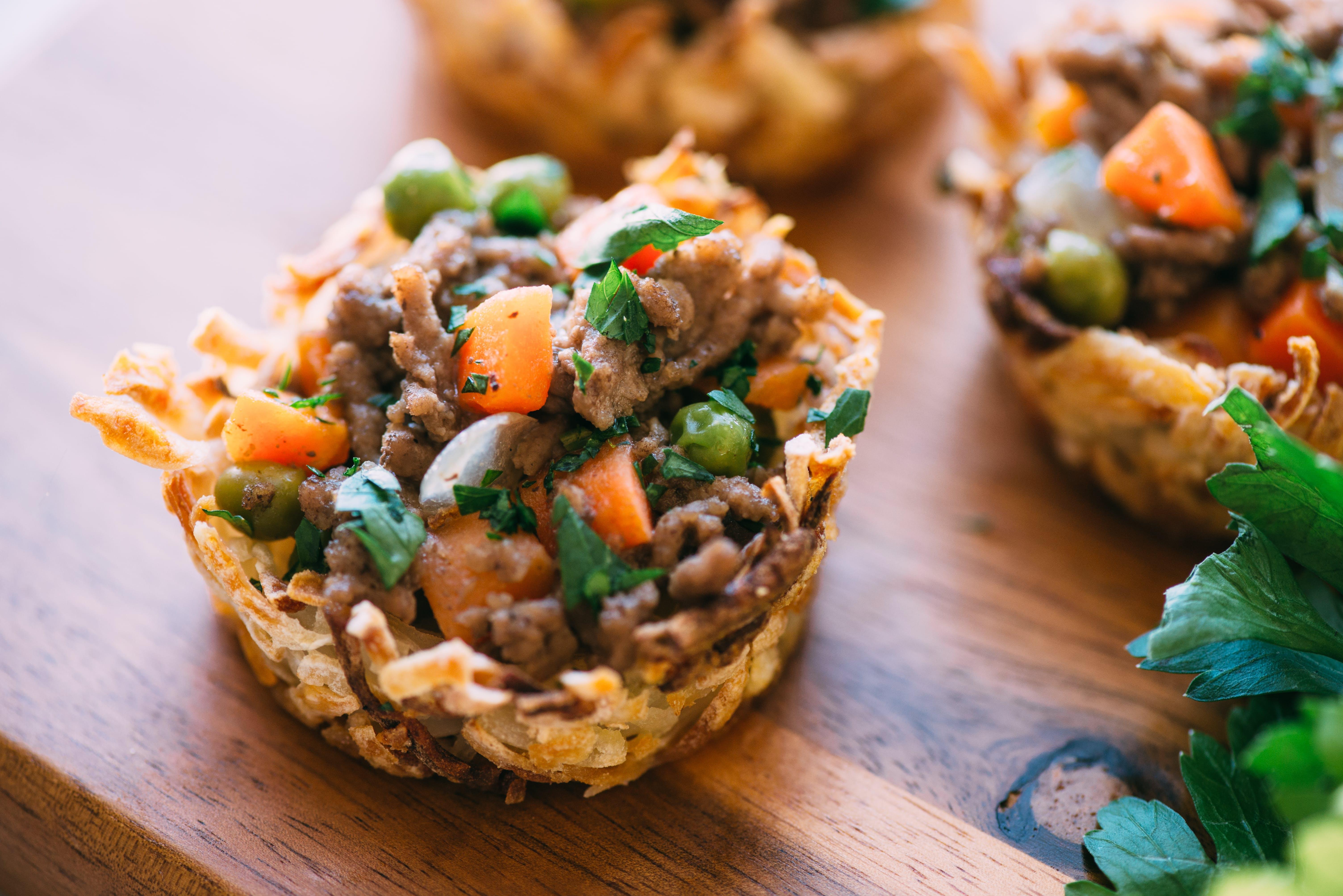 Muffin-Pan Shepherd's Pie