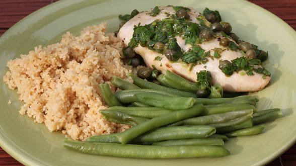 No-Cook Sauces for Chicken: Lemon-Dijon Sauce