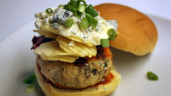 Ohio Nacho Turkey Burgers