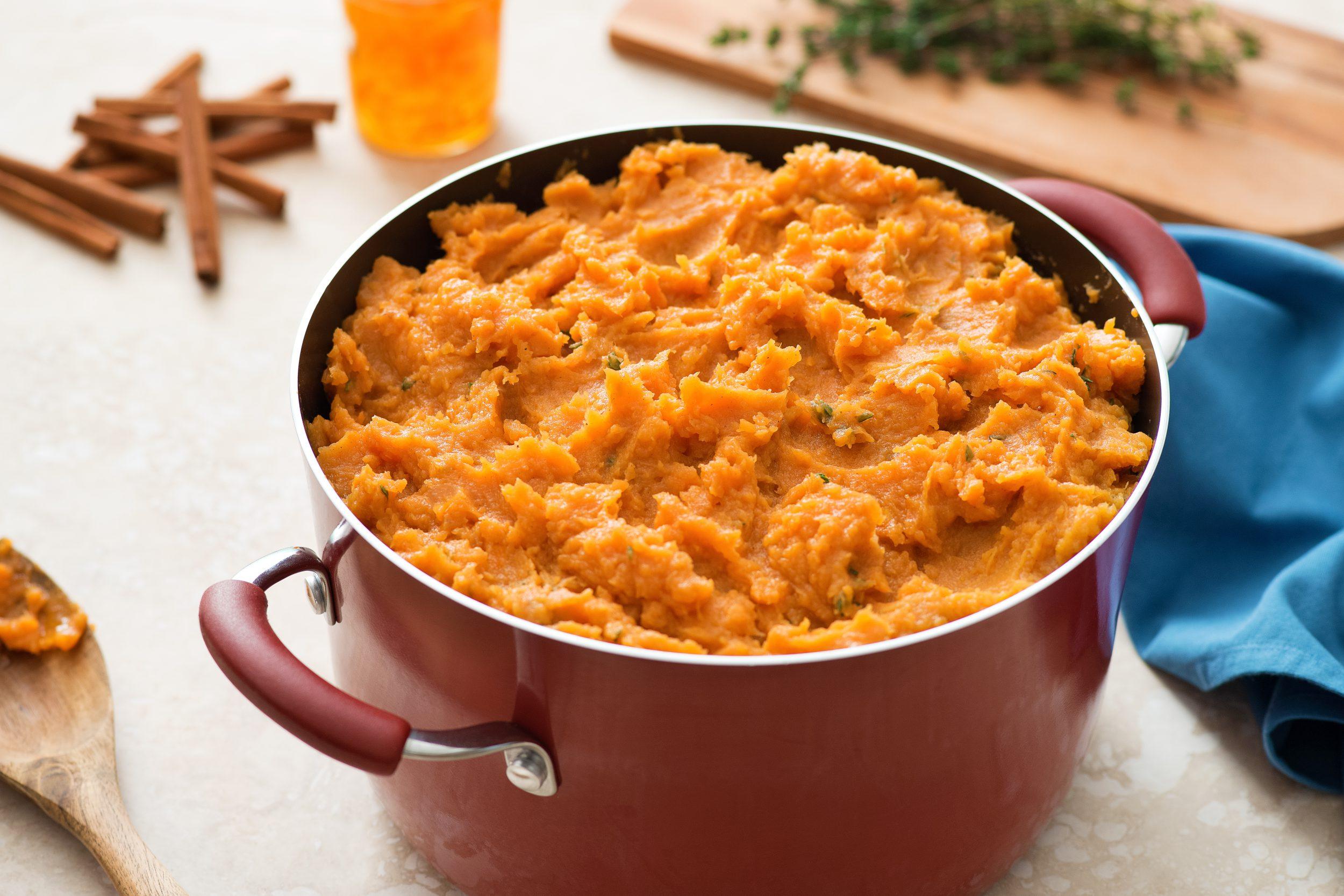 Orange You Glad It's Sweet Potato Mash