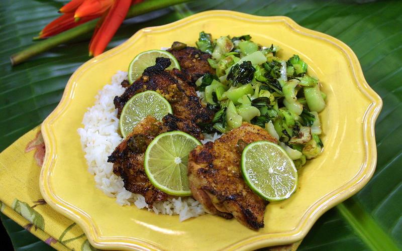Ponzu-Glazed Chicken