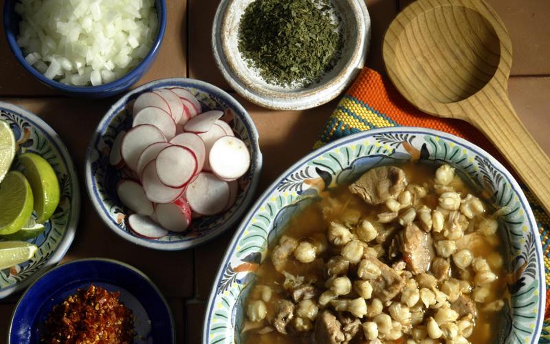 Pozole Estilo Jalisco (Jalisco-style pozole)