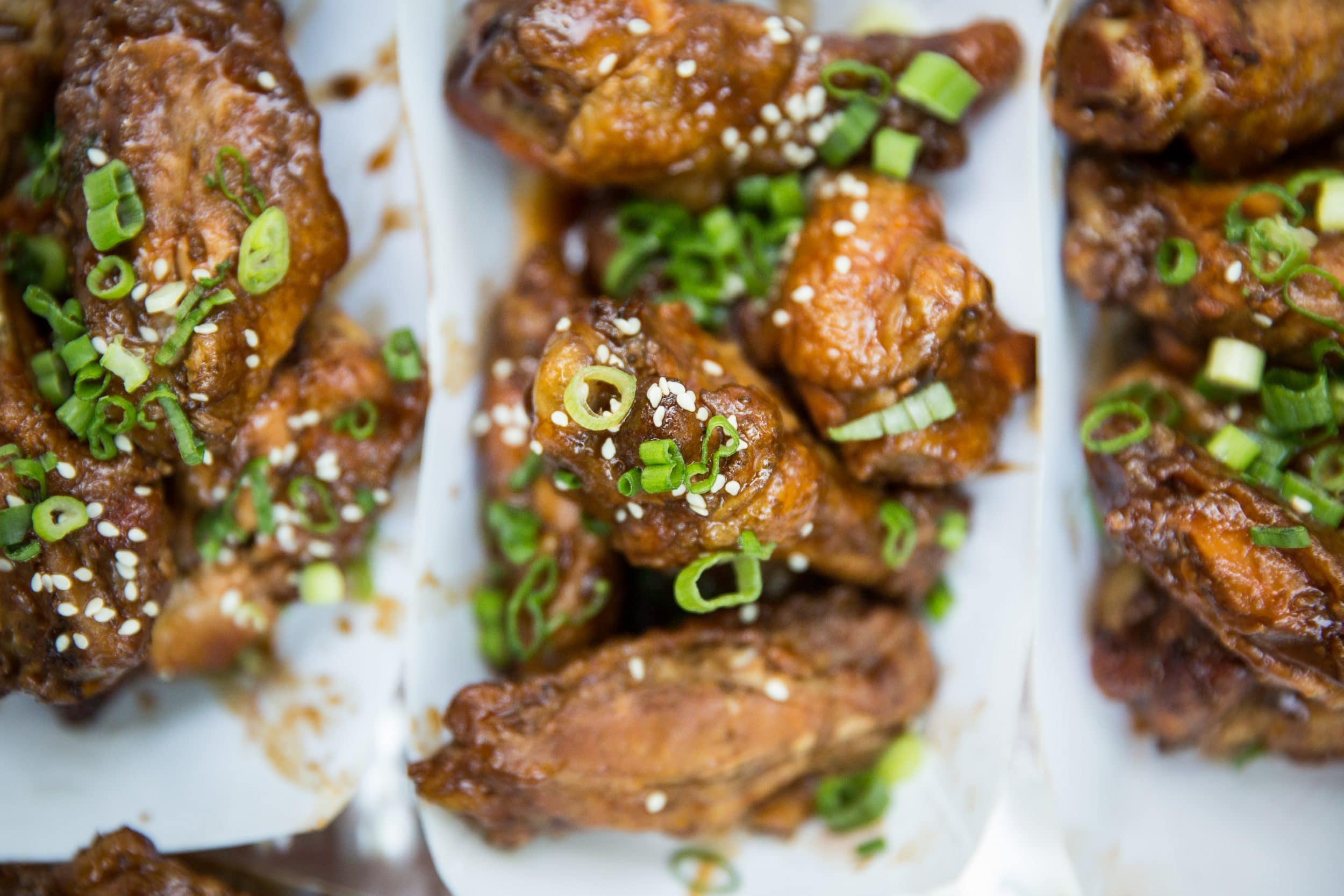 Rach's Smoked Chicken Wings with Hot Plum Sauce