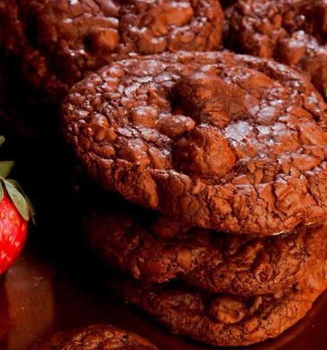 Rockenwagner's Espresso-Macadamia Nut Cookies