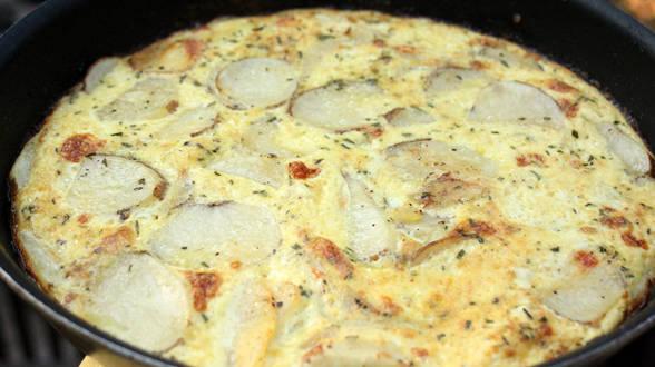Rosemary Potato Frittata