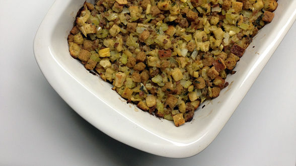 Sausage, Chestnut and Apple Stuffing