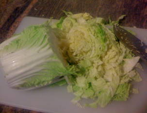 Savoy Cabbage with Caraway