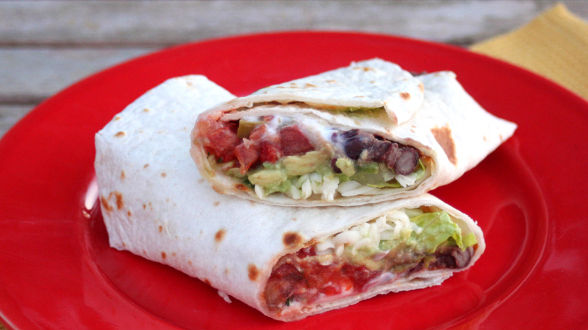 Seven-Layer Burritos