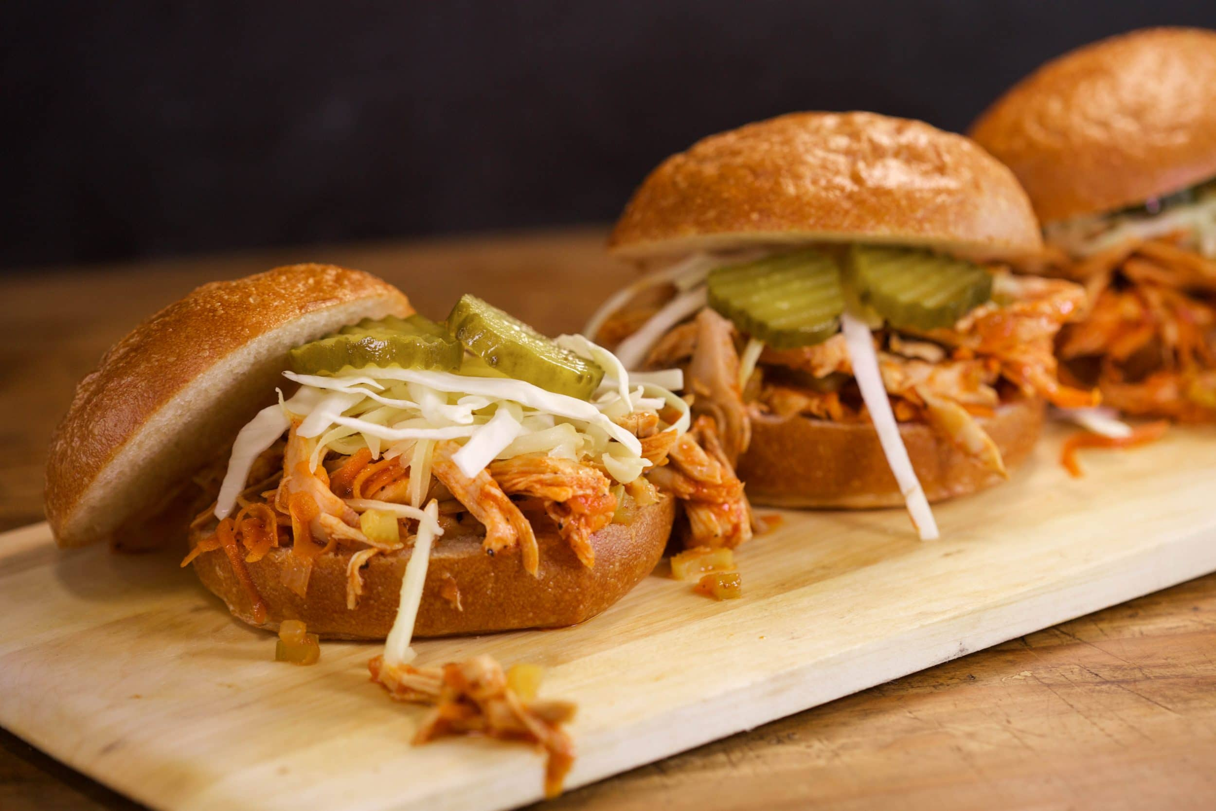 Sloppy Buffalo Chicken Joes