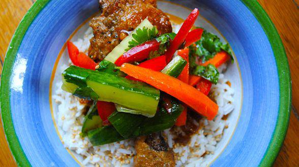 Slow Cooker Meal: Teriyaki Chicken