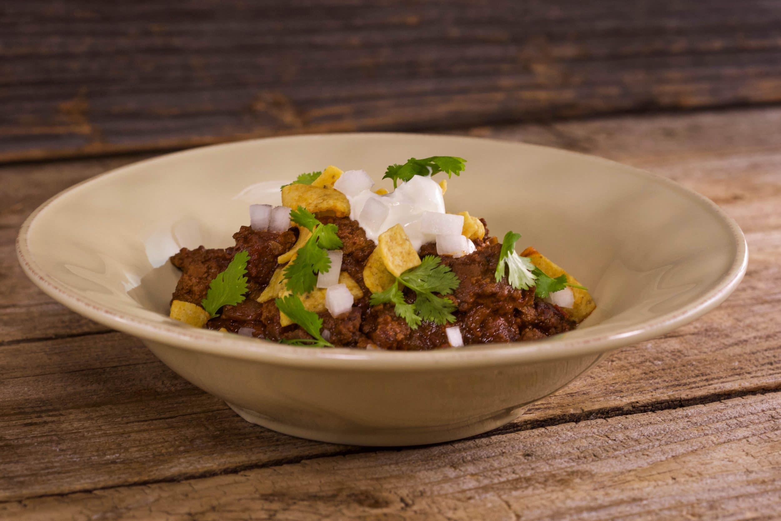 Smoky Beef and Bean Chili