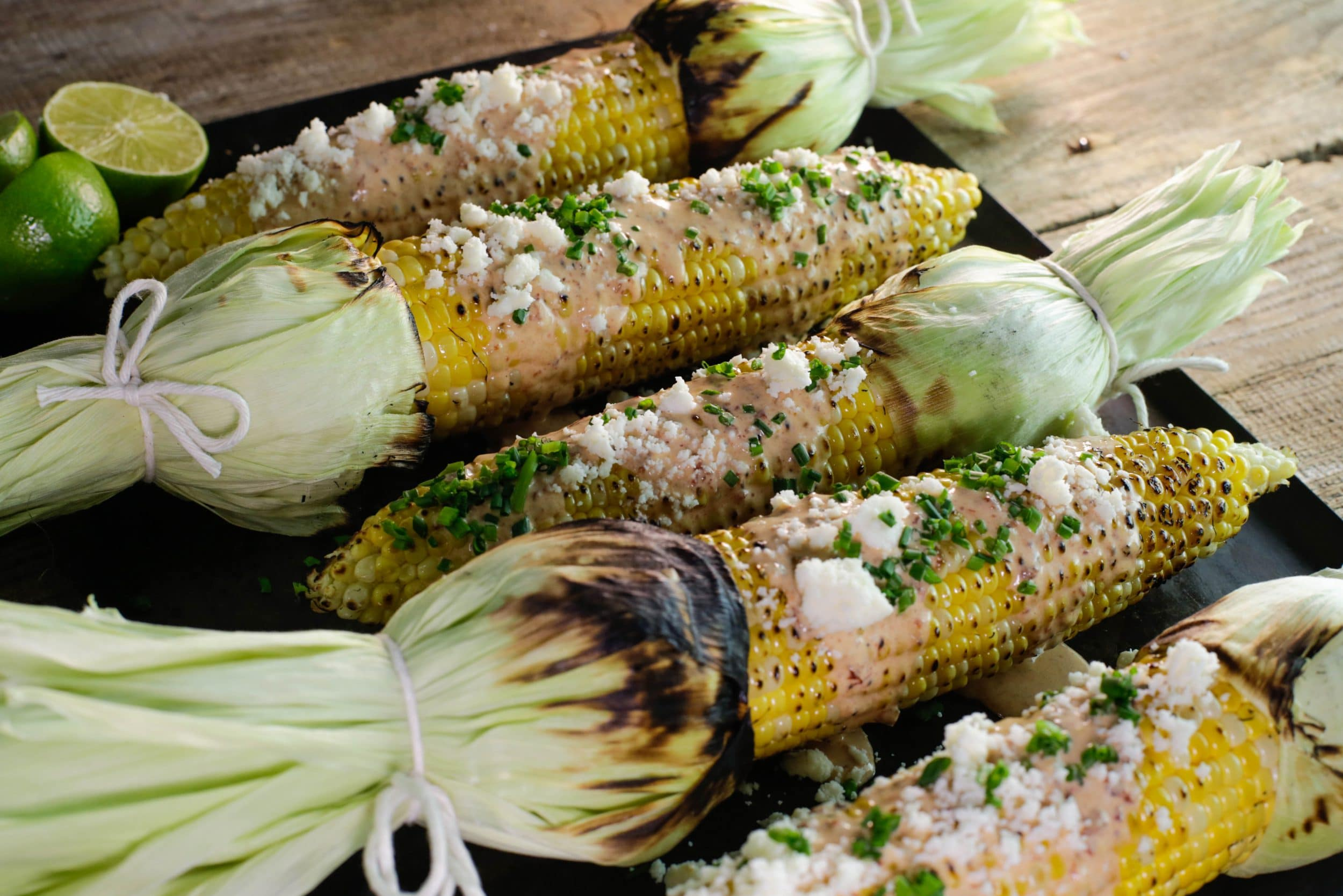 Smoky Mexican Street Corn
