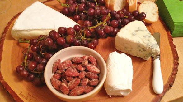 Soft Cheese Board