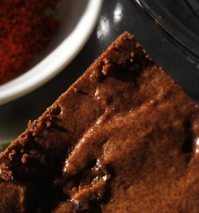 Spicy cherry chocolate brownies
