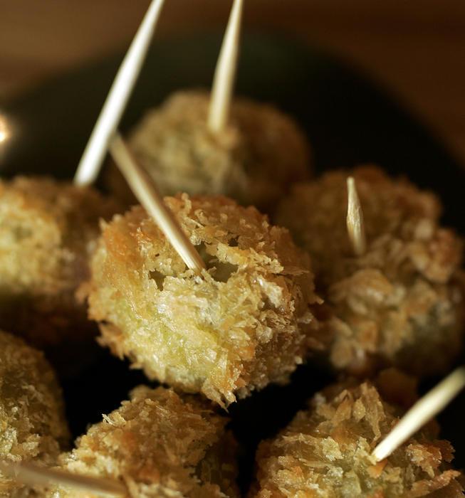 Stuffed fried olives