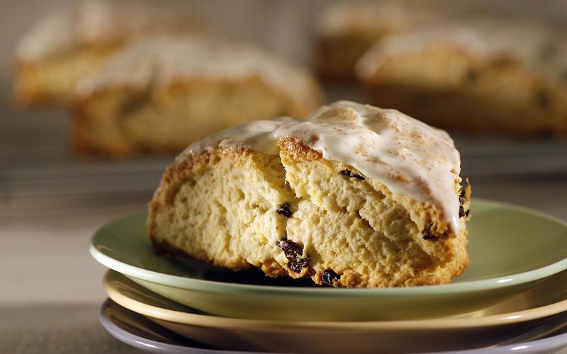 Sweetie Pie's orange breakfast scones