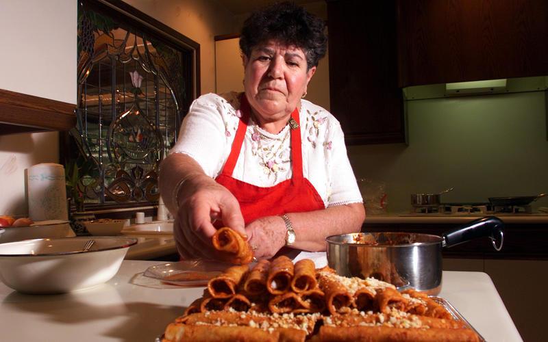 Teresa Sanchez's Enchiladas