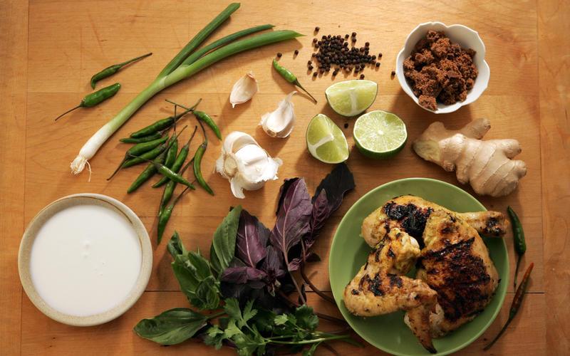 Thai coconut chicken
