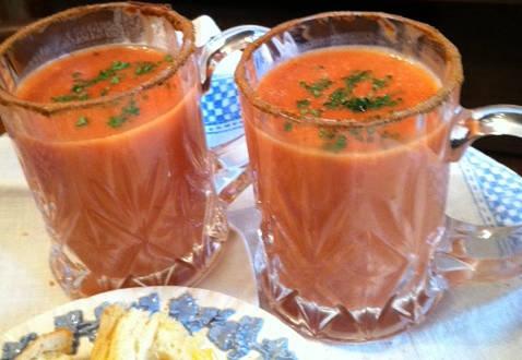 Tomato-Vodka Soup