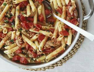 Tuna Pasta Puttanesca