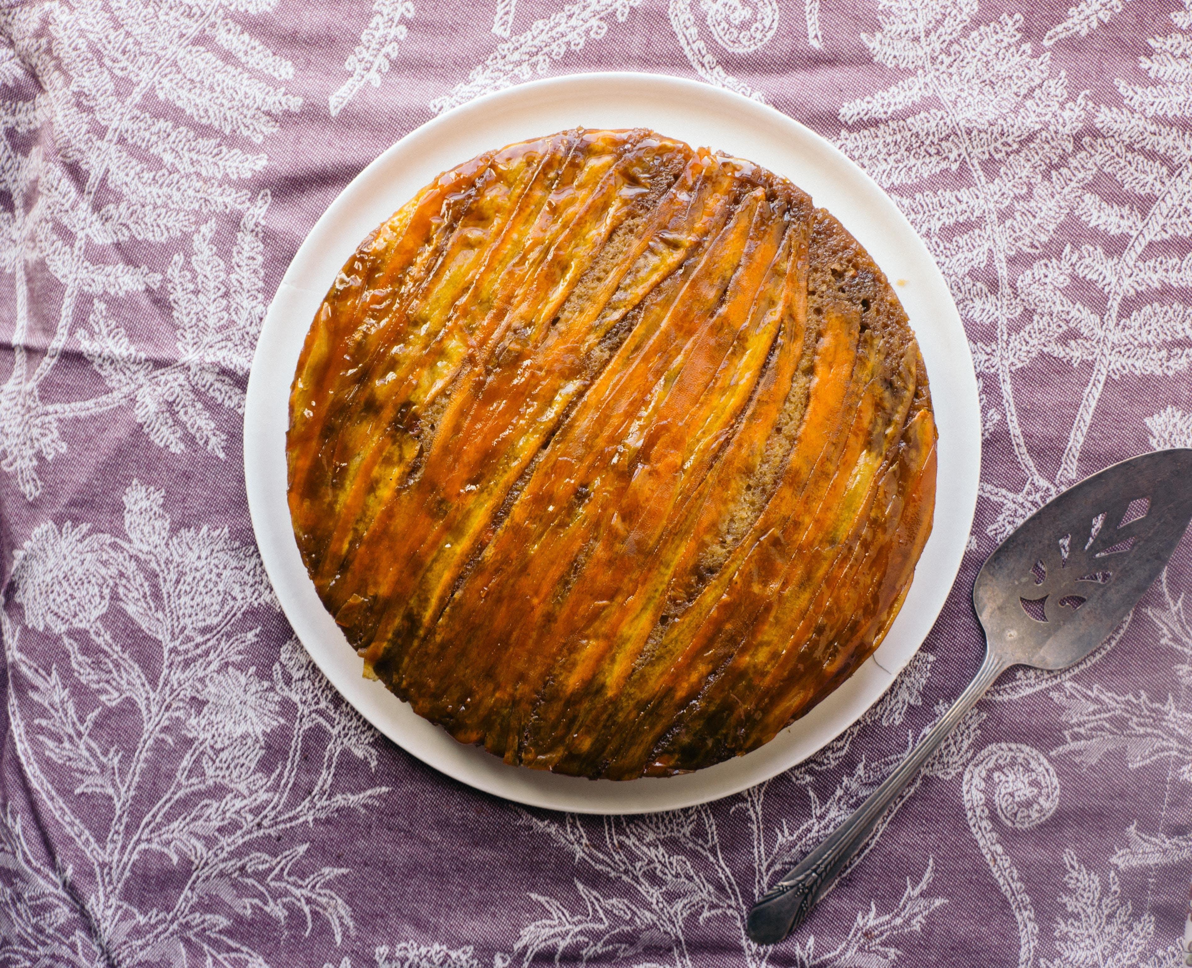 Upside-Down Carrot Cake