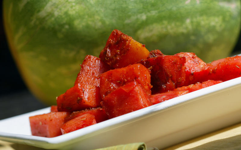 Watermelon curry (matira)