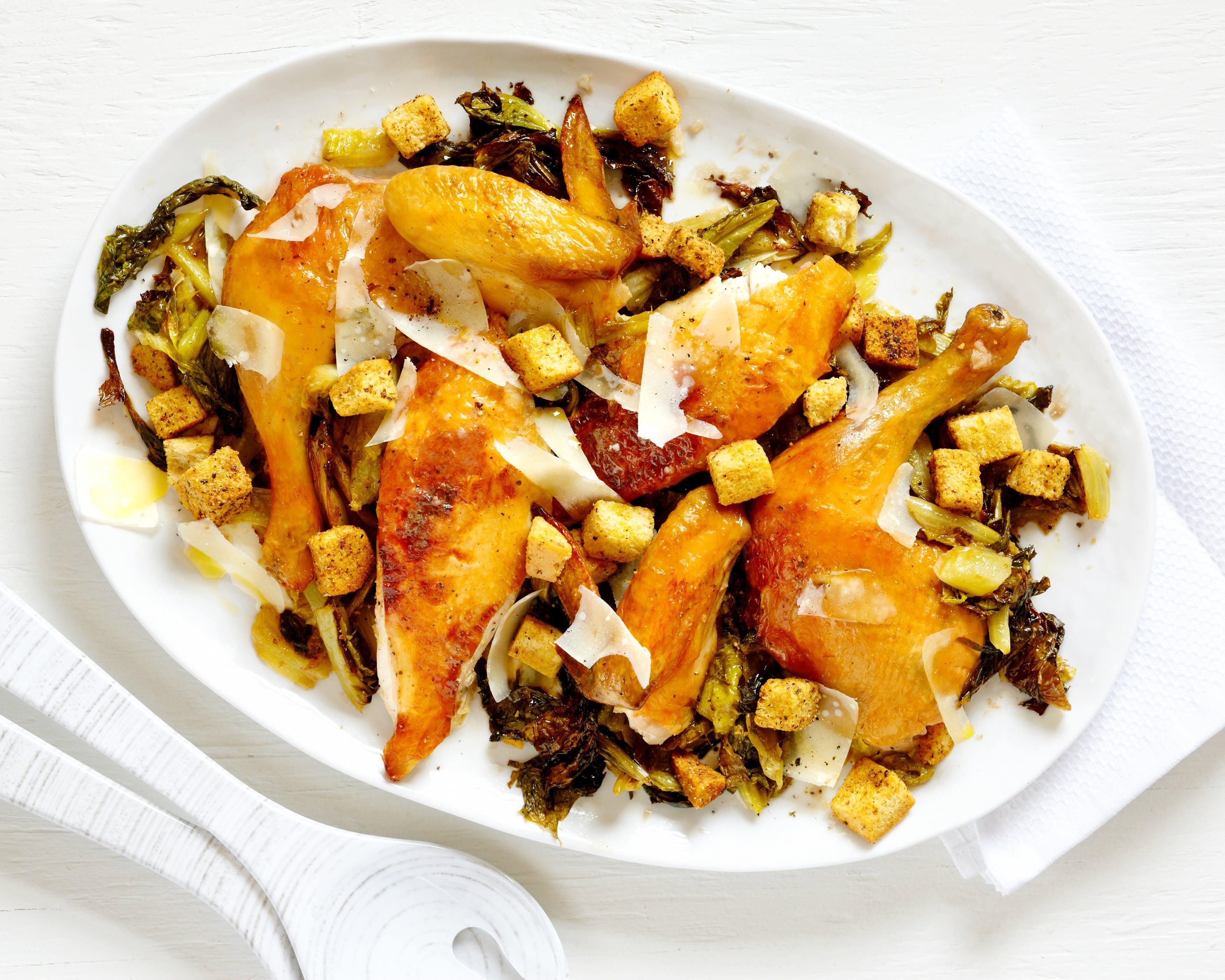 Zucchini Buffalo Chicken Salad