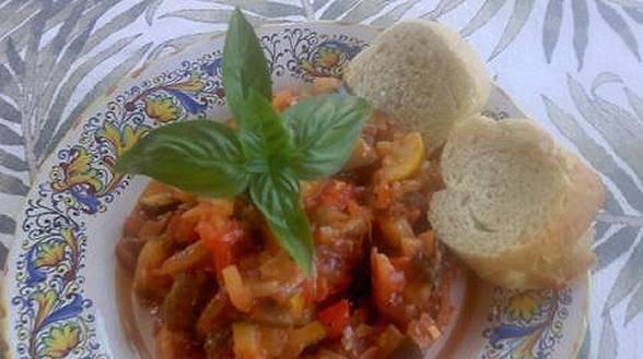 Zucchini Caponata