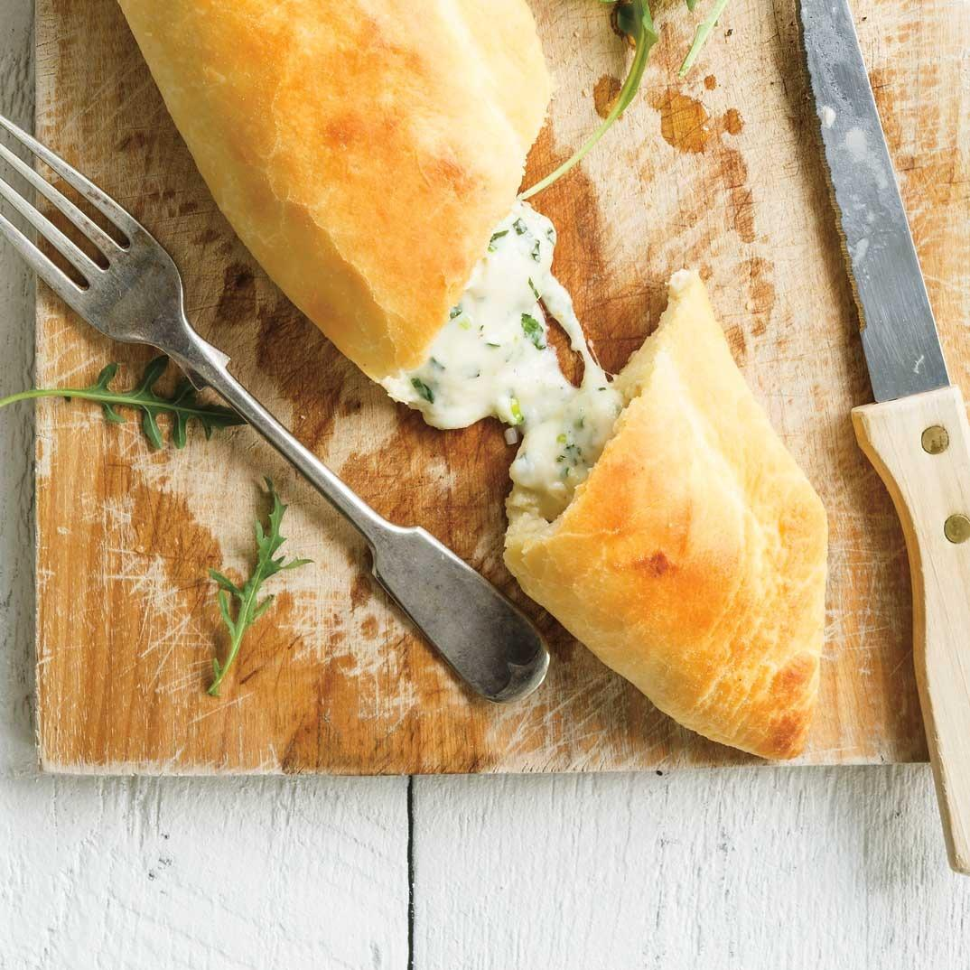 3-Cheese Calzones