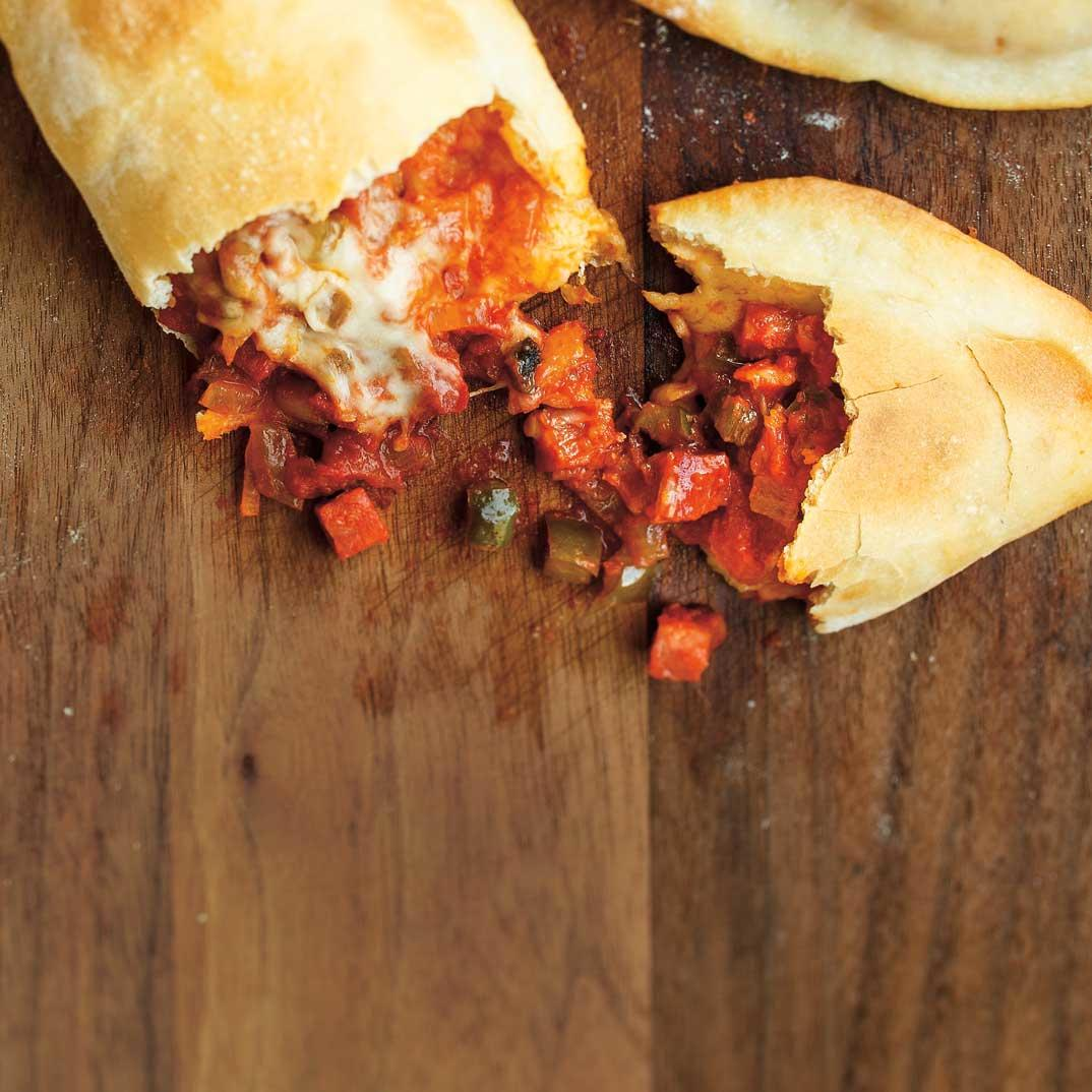 All-Dressed Pizza Pockets (The Best)