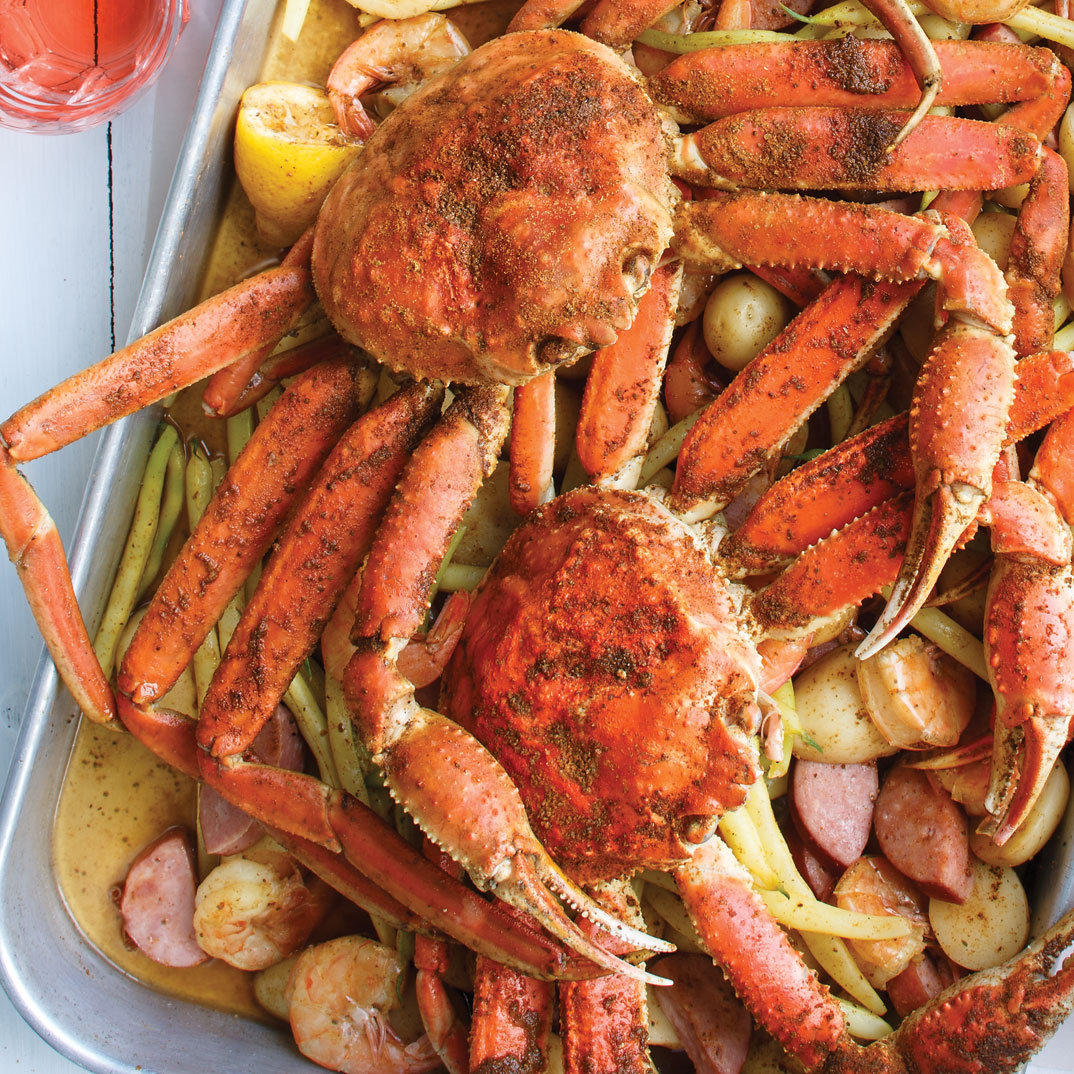 American-Style Crab Boil