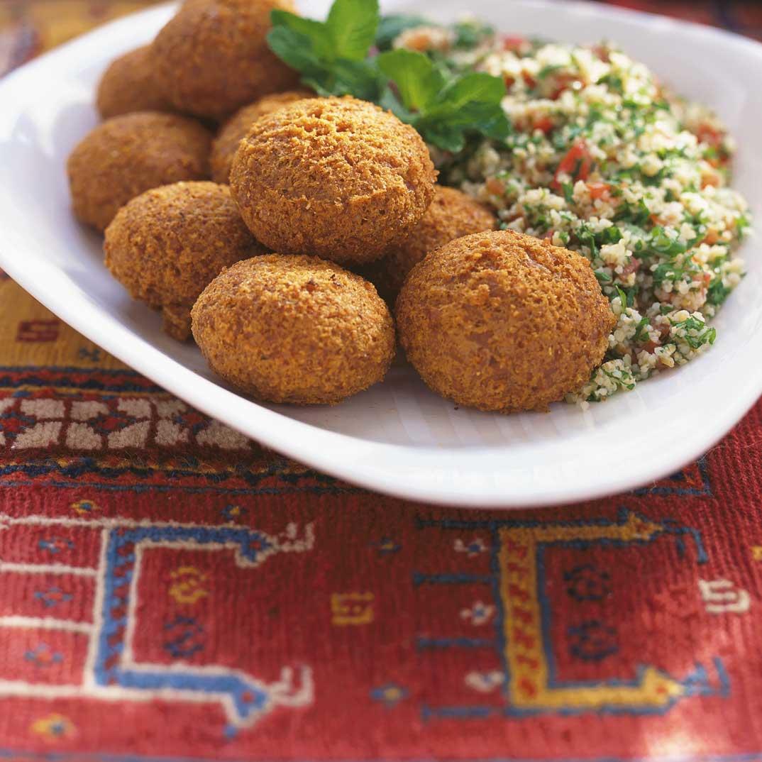 Anne Bachour's Falafel
