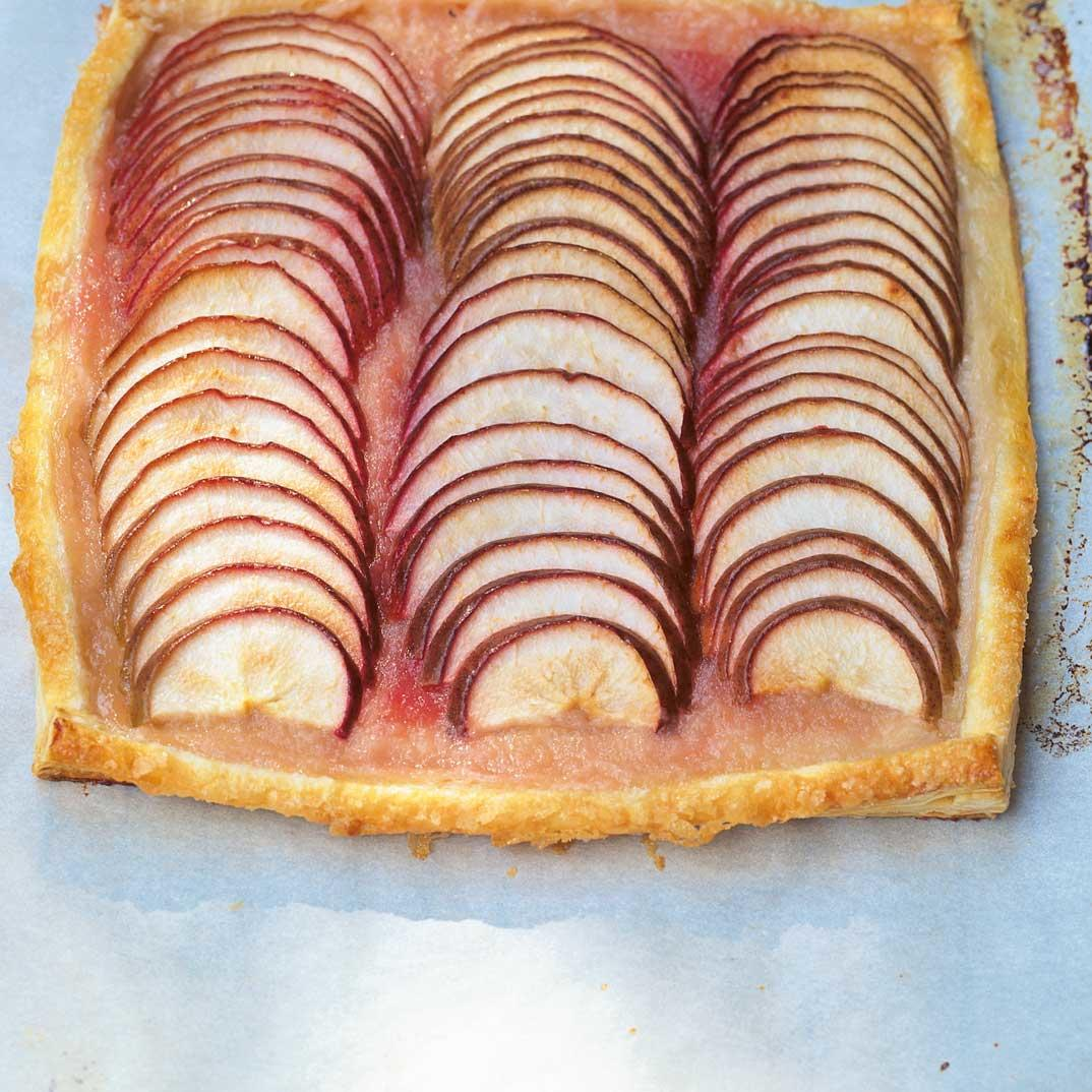 Apple and Pear Puff Pastry Tart