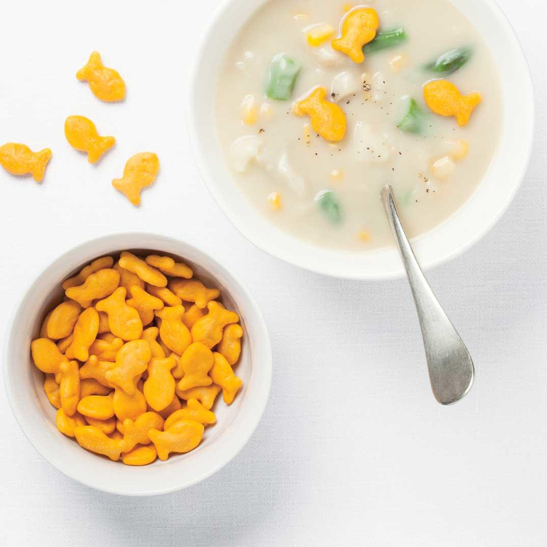 April Fool's Fish Chowder