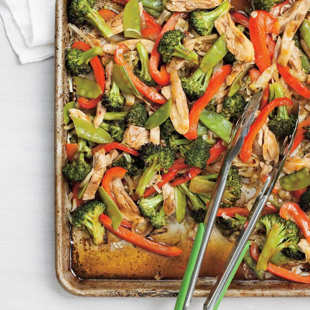 Asian-Style Oven-Baked Chicken